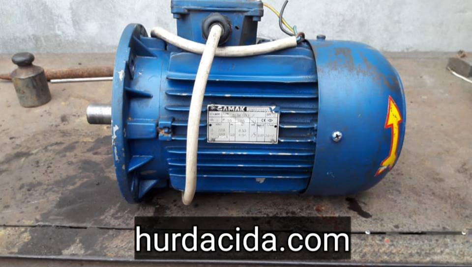 ikinci el 2 2 kw elektrik motoru