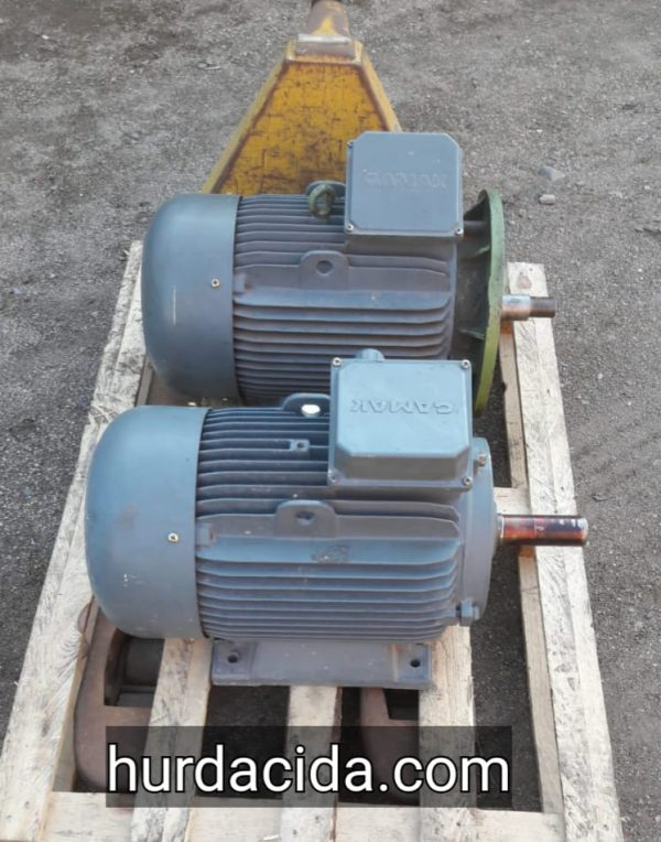 15 Kw İkinci El Elektrik Motoru