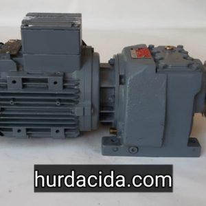 55 Devir Redüktörlü Motor