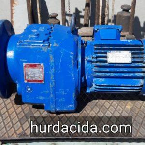 2 Hp Redüktörlü Motor