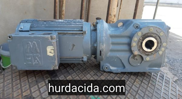 3 Kw Redüktörlü Konik Motor