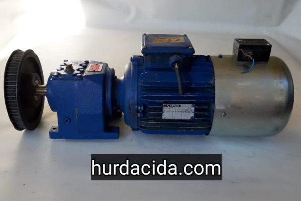 3 Hp Redüktörlü Motor