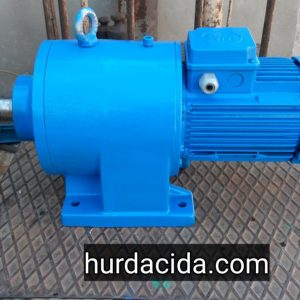 1.5 Hp 17 Devir Redüktörlü Motor