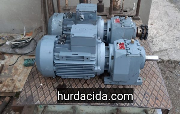 1.5 Hp Redüktörlü Motor