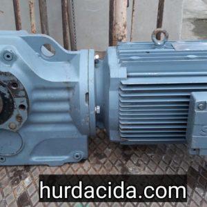 SEW 7.5 hp konik redüktör