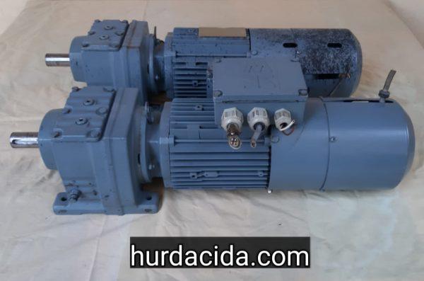 1 hp 100 devir frenli redüktör