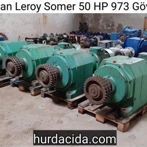 Leroy Somer 50 HP 973 Gövde Redüktör