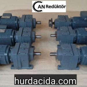 SEW R37 0.55 kw redüktör